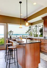 light airy kitchen