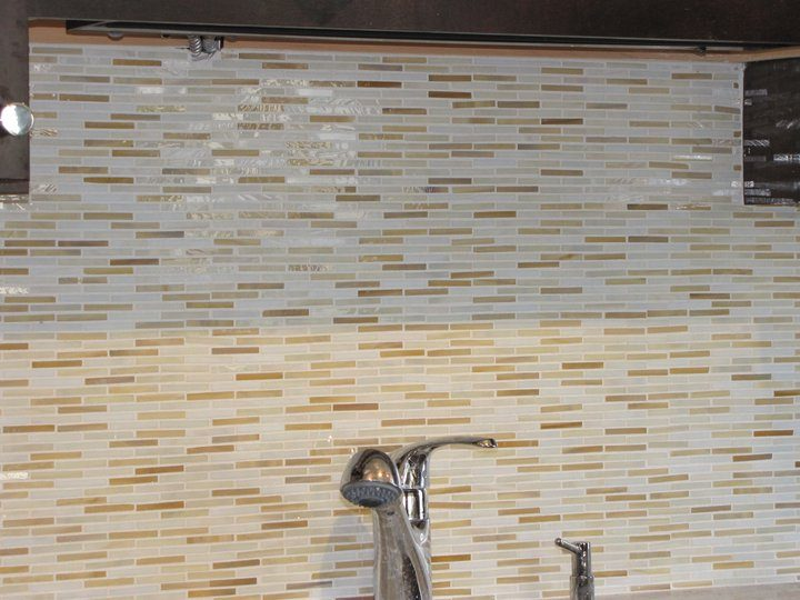 kitchen glass back splash