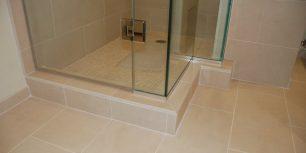 master shower curb detail