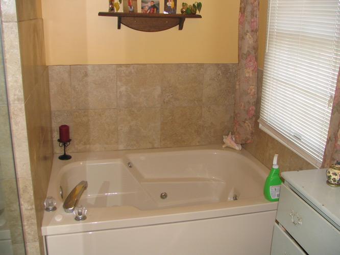 Rockville md master bath for Bath remodel rockville md