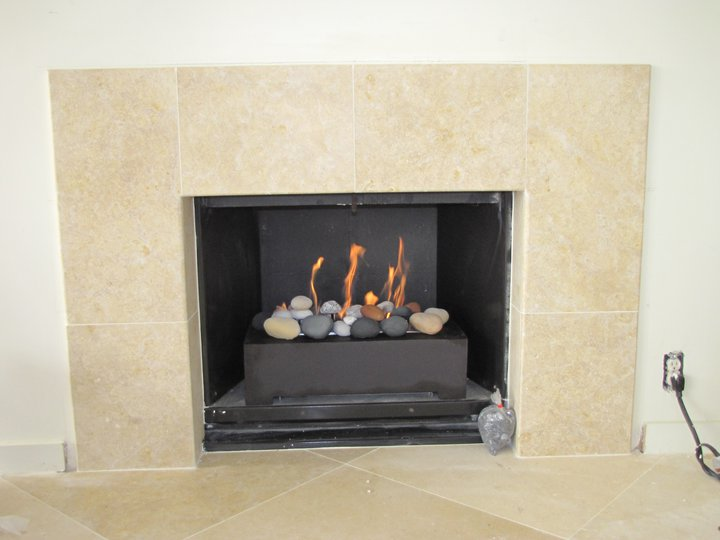 Natural Gas Fireplace Dc Condo Remodel