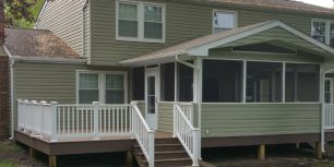 Olney, MD Deck & Screened In Porch