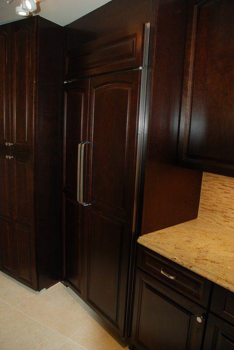 kitchen fridge panel