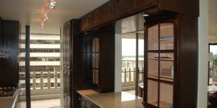 kitchen prep area dc condo remodel